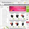 Vente de destructeurs de documents et d'articles de sécurité